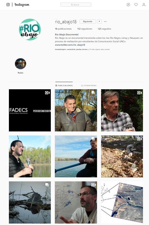 #RíoAbajo documental transmedia